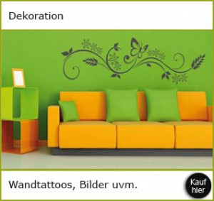 Dekoration, Wandtattoos & Bilder von Homelife24.de